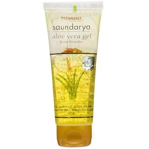 Patanjali Saundarya Aloevera Gel with Saffron and Sandalwood
